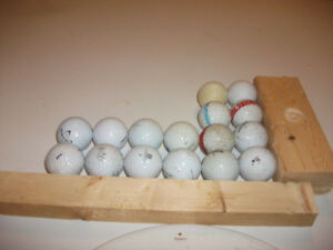 Lot de balles de golf