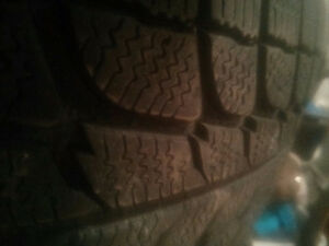 Four. 195/65/15 four season rated tires. 65% THREAD.  $100.