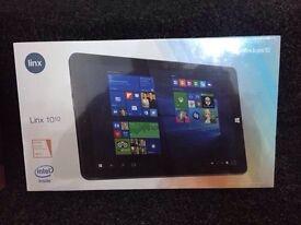 "**SEALED** LINX 1010 10.1"" TABLET - 1.83 GHz, 2GB RAM, 32GB, WIFI, BLUETOOTH, CAMERA, WINDOW 10."