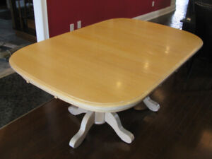 solid maple kitchen/dining table