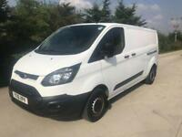 2016 16 FORD TRANSIT CUSTOM 2.2 290 LWB 100 BHP AIR CON BIG SPEC DIESEL