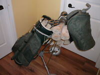 Ladies Golf Club Set with Cart