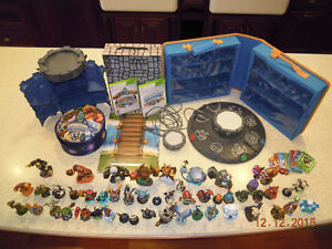 Skylanders with games and accessories