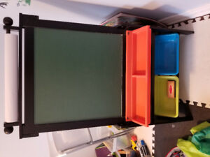 Like new: Kidkraft Grand Storage Easel