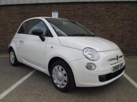 2008 (08) FIAT 500 1.2 POP WHITE CREAM PETROL MANUAL LOW MILEAGE