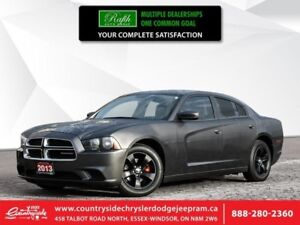 2013 Dodge Charger SE  LOCAL TRADE|V6|TOUCHSCREEN|CLEAN CARFAX