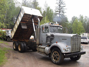 1978 Kenworth gravel truck,