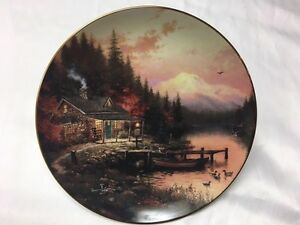 "Bradford Exchange Collector Plates ""Wish You Were Here"""