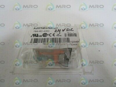Automation Direct 24vdc Relay 784-4c-24d New In Original Package