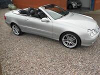 Mercedes-Benz CLK500 5.0 306 BHP auto Elegance Black leather Call 07738117341