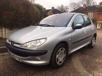 2003 PEUGEOT 206 AUTOMATIC not renault clio polo corsa