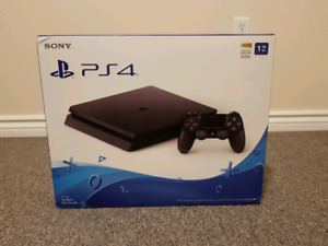 PS4 Slim 1TB Brand new factory sealed