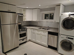 AVAILABLE NOW - Newly Renovated Basement Apt on the Mountain