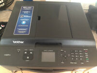 Brother MFC J430W Scanner, Fax, color WiFi