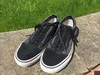 Men's vans shoes size 7.5