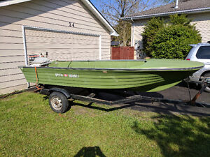 14ft Doral boat motor and trailer *needs nothing*
