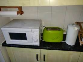Microwave, Kettle and Toaster set