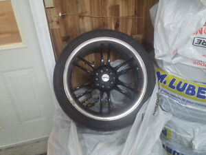 """18"""" fast rims with westlake low profile tires."""