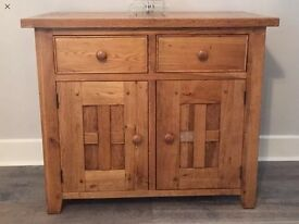 Solid oak sideboard chest of drawers cupboard furniture from Fenwicks Sutton sm3