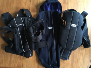 2 Baby Bjorn Carriers plus winter cover