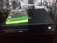 Xbox one with call of duty black ops 3