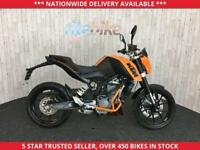 KTM DUKE KTM DUKE 125 DUKE ABS MODEL ONLY 168 MILES ONE OWNER 2014 14