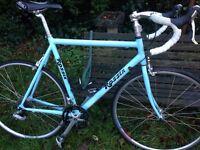 Rossin road bike bespoke Italian bicycle not hybrid or mountain bike old school Sutton sm3