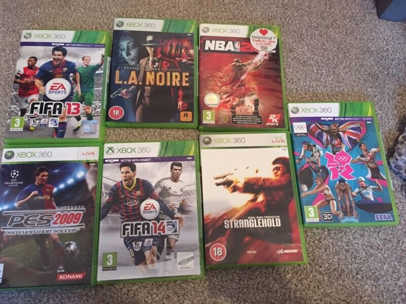 Joblot Xbox 360 games all in box