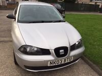 Seat Ibiza, low mileage, great condition