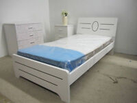 Super strong single/twin wooden bed frame$129up(free delivery)