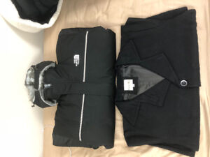 North Face Jacket(XL) and Copper key Overcoat(XXL) for sale
