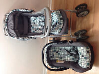 Safety first Stroller, Car seat with base - $70