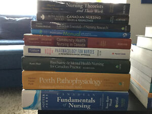 Various Nursing Textbooks in Excellent Condition-$120 and Under
