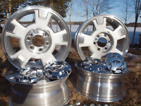 Ford F150 Rims with caps and nuts