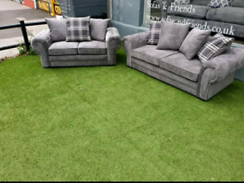 3+2 Seater Verona Sofas With Scatter Back Cushions