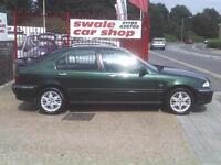 2002 02 Reg Rover 45 1.4i Spirit S 5 Door 1.4 ENGINE 62000 MILES NEW MOT