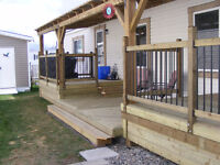 Fence and deck repair