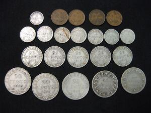 Coins of NEWFOUNDLAND pre 1949