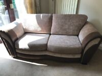 2 Seater spring mechanism sofabed