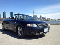 Audi Cabriolet Convertible Leather
