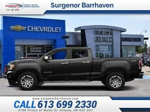 2015 GMC Canyon SLE  - Certified - Bluetooth -  OnStar - Low Mil
