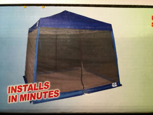 New Screen Insert Kit for 10 x 10 Slanted Frame Canopy Tent