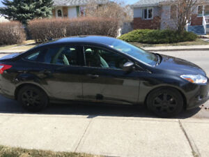 2012 Ford Focus Sedan, Excellent condition, low KM, manual