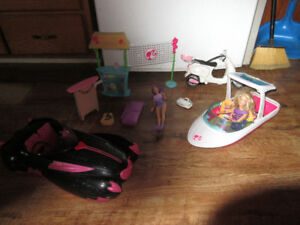 barbie beach set with car
