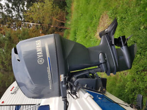 2012 115 Yamaha with controls and 310hrs