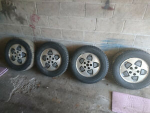 Tires on Rims 215/70/R15