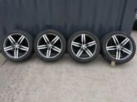 "17"" Original Genuine BMW 379m Alloy Wheels & Tyres"