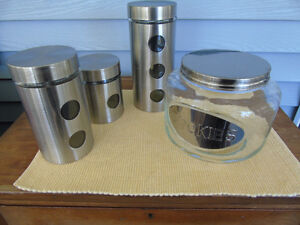ARCOSTEEL kitchen storage  containers
