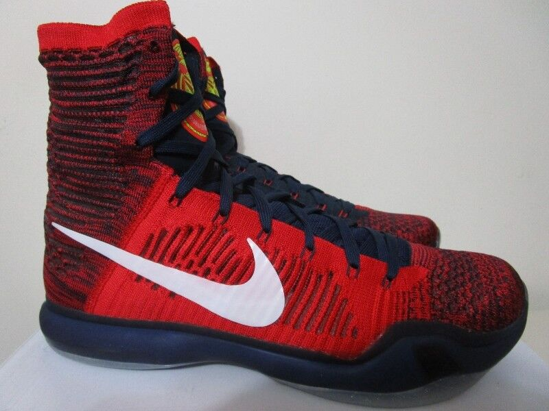 lowest price 7b421 29d8c ... spain ds nike kobe 10 high elite usa 380 in size 13 mens shoes city of  ...