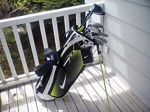 Ladies Right Hand Prince  Triax Hybrid Tech Golf Clubs & Bag